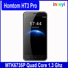 Inteyi wholesale HOMTOM HT3 PRO 5.0inch Android 5.1 2GB/16GB MT6735 Quad Core dual sim card 4G Mobile Phone