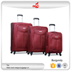 "2016 hot selling 4 wheel suitcase 20""24""28"" unique travel nylon 3 pcs luggage set"