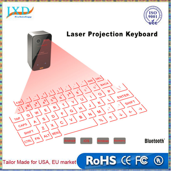 Mini Portable Laser Virtual Projection Keyboard And Mouse To For Tablet Pc
