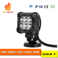 18W 4inch mini pods LED work light bar for offroad vehicle,Jeep,truck