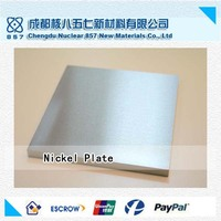 nickel plate for instruments sales by nuclear cdh857 factory