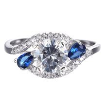 Wholesale Fashion Valuable Wedding 925 Sterling Silver Jewelry Rings
