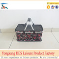 Best price wholesale picnic basket foldable from china