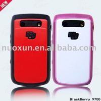 For Black berry 9700 TPU+PC Case