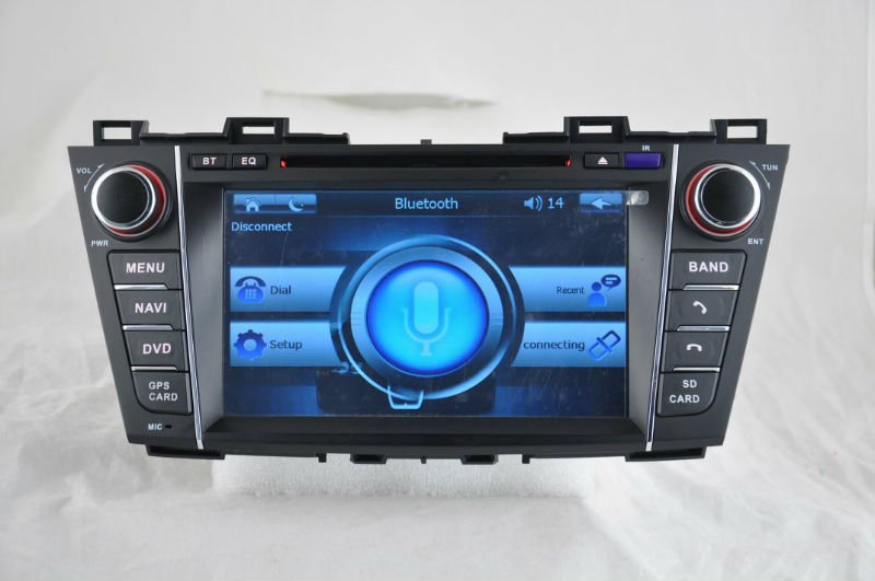 WITSON car dvd navigator Mazada 5 with FM,AM,RDS