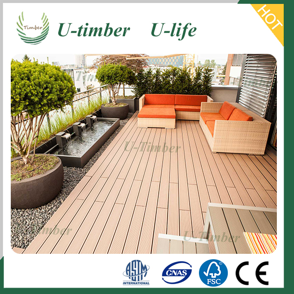 Engineered Flooring Type and Wood-Plastic Composite Flooring Technics Meetchance WPC DIY Decking