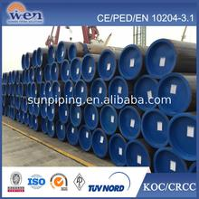ASME B36.10M ASTM A106 GR.B seamless steel pipe price in China