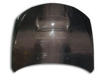 Carbon fiber car parts front bonnet OEM-style for Subaru WRX, STI 2008