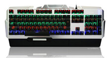 Superior Tactile Feedback Double-injection Keycaps RGB Mechanical Keyboard