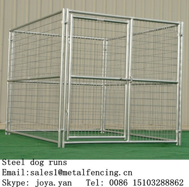 china wholesale metal anti rust treatment dog kennel fence panels buy dog run fence metal fence panelsdog kennel gate panel product on