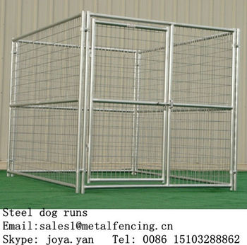China wholesale metal anti rust treatment dog kennel fence panels