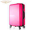 4 piece travel style abs luggage bag set