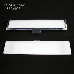 clear plate injection mold and molding for led light