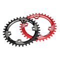 GUB XC11 96BCD Ultralight 5mm 34T A7075 Alloy Bike Chainring Round Chainwheel MTB Road Cycle Crankset Parts for Shima-n0 M8000