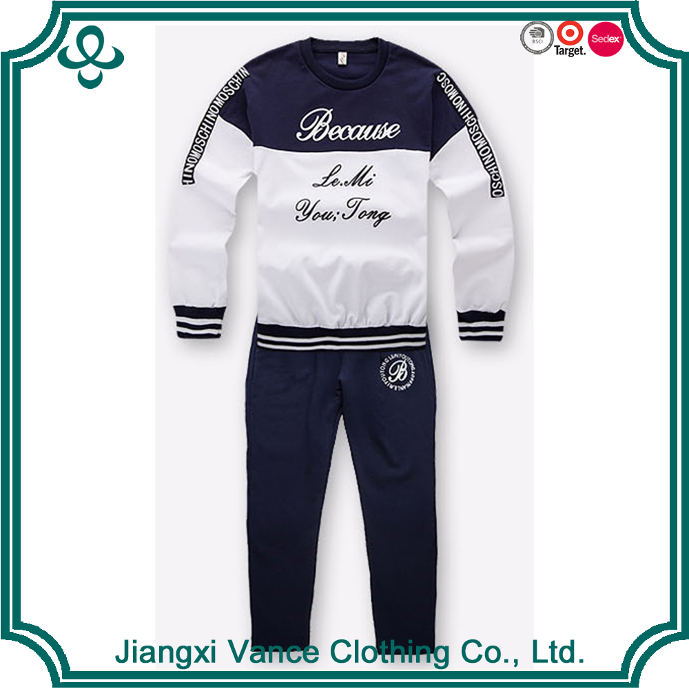 Baby Kids Clothing Set 2 Pieces White Cartoon Long Sleeve T Shirt And Sport Pants Spring Children Wear