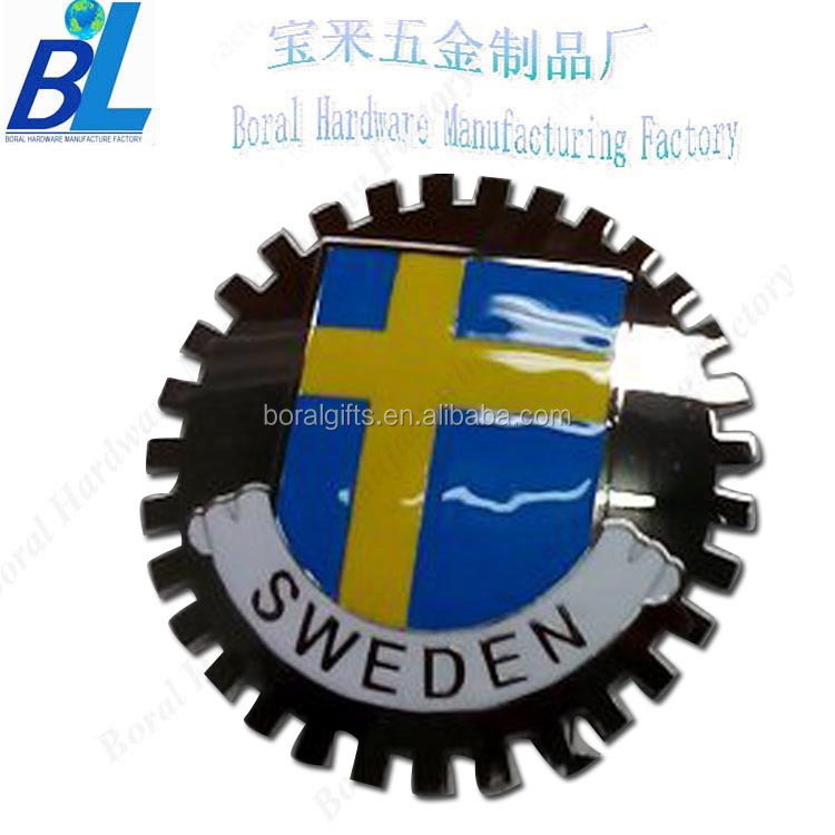 Bulk supply imitation hard enamel car emblems and names