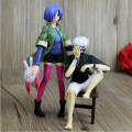 details 3D anime action figure, custom made anime figure, boy and girl custom anime pvc figure