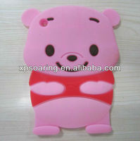 Animal Bear Style Silicon Protective Case For Ipad Mini