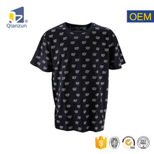 promotional cotton longine mens fashionable plain tshirt for printing