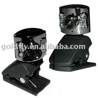 USB Digital Web Camera + Mic + LED Light