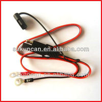 Factory direct sale battery connection cable w/low voltage monitor
