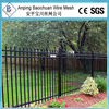 ornamental cast iron fence finials/zinc ornamental steel fence manufacturer