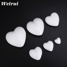 Christmas foam heart shape for party
