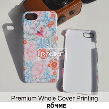 newest style mobile cover case manufacturer supply custom hot selling flower patten mobile phone case for iphone 7