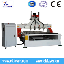 1325A multi spindle woodworking cnc Router Machine / cnc wood carving machine for mdf , furniture