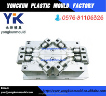 45 degree flared elbow plastic pvc injection pipe fitting mould