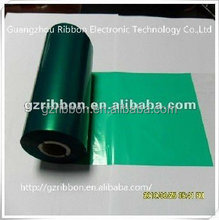 R-GH704 Green Wax-Resin barcode printer fabric color typewriter ribbon