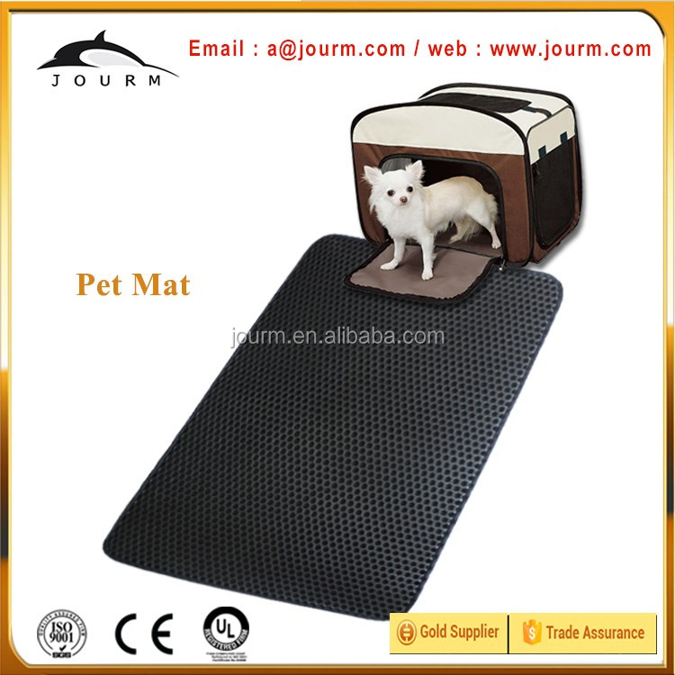 Wholesale durable material dog paw cleaning mat for pet pee