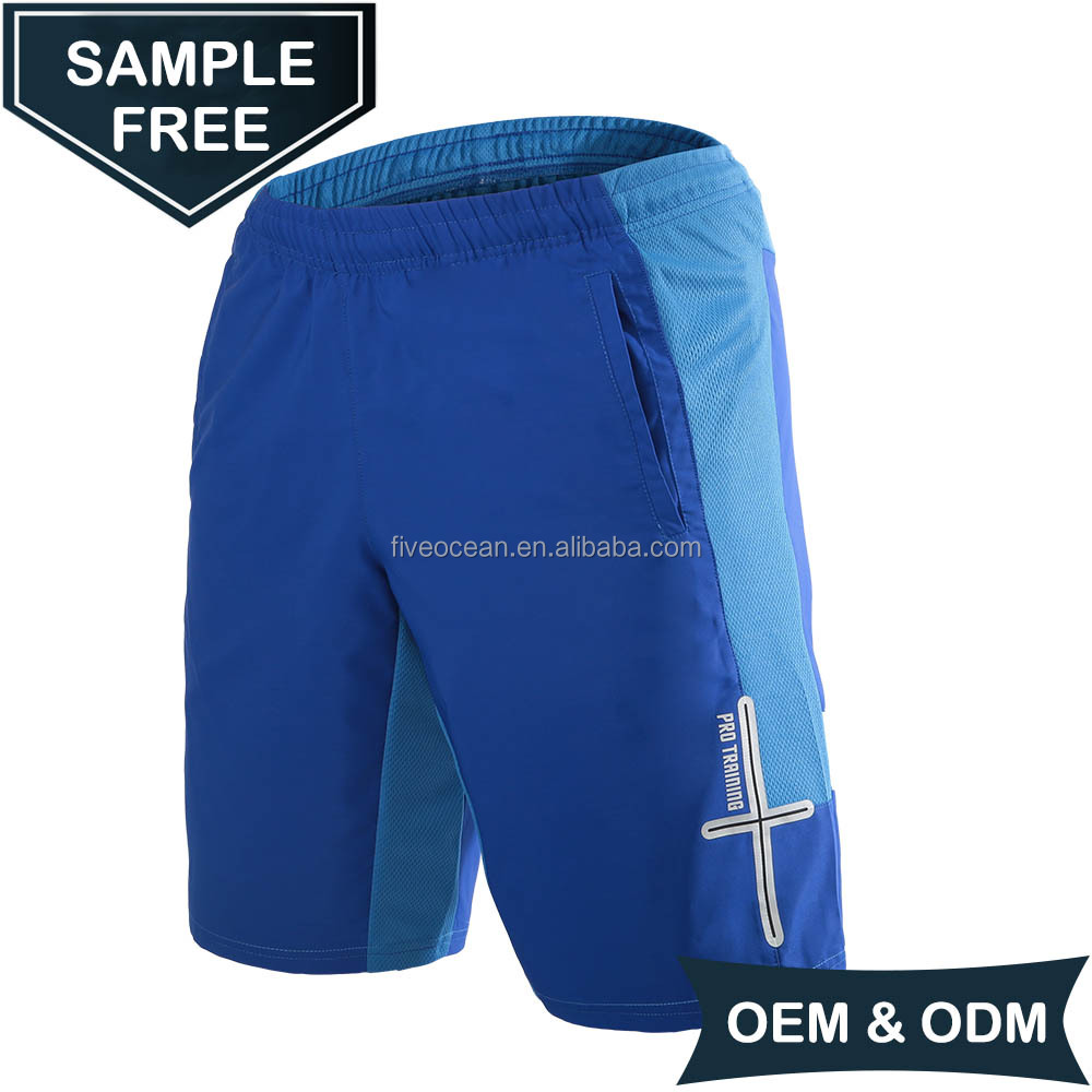 OEM/ODM Woven Fashion Custom Mens Running Sports Shorts , Workout Shorts for Gym