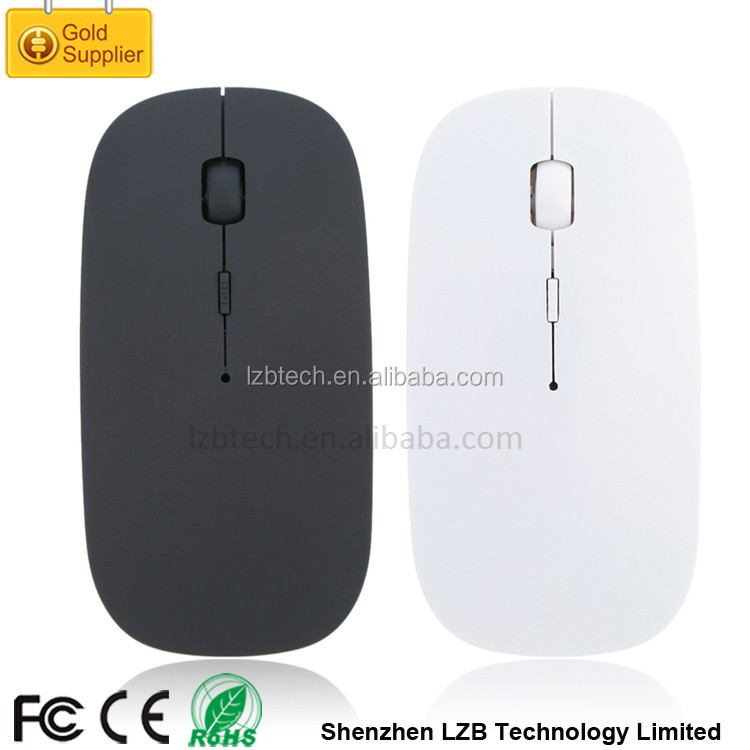 rechargeable Ultrathin mouse bluetooth mouse bluetooth slim wireless mouse from ISO factory