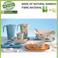 Bamboo fiber food&drink tray decorating your green life,bamboo food tray