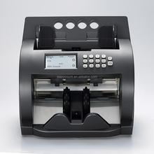 EC1000 currency counter/mix denomination money discriminator/counterfeit note detector/cash counting/sorting machine