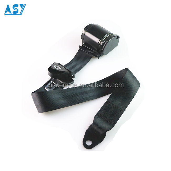 Universal Bus Safety Belt 3 Meters Automatic Retractable 3 Point Auto Seat Belts