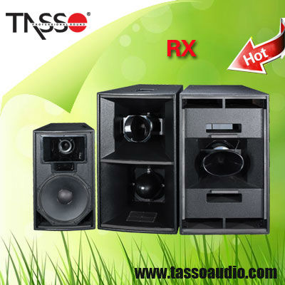 Tasso line array speaker system