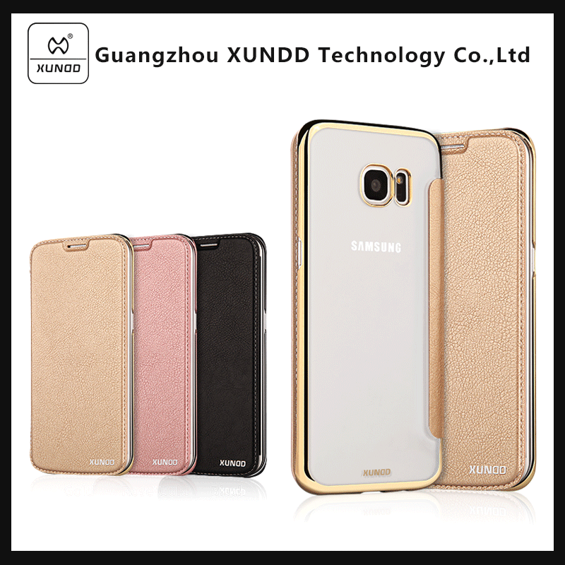 [XUNDD] Leather cover for Samsung Galaxy s8, luxury back cover for Samsung mobile case