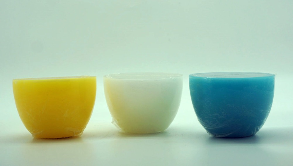 Set of 3 Wax candle bowl