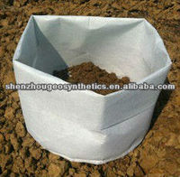 degradable polyester non woven plant bags