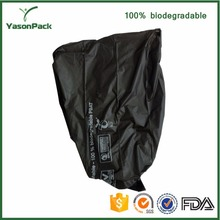 Degradable factory outlet Multi purpose non woven fabric clear or black plastic rubbish bags