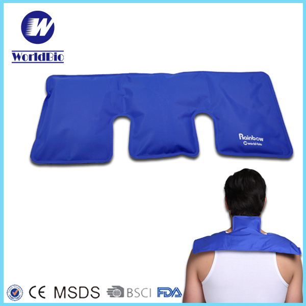 Nylon hot Cold gel pack for Knee