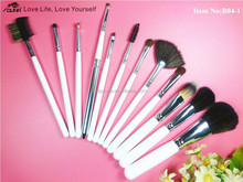 OUNA Novelty Waterproof high quality makeup brushes 12pcs