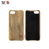 Bamboo Cherry Whole Wood Cell Phone Case Blanks Hard Back Cover Case for iPhone 8