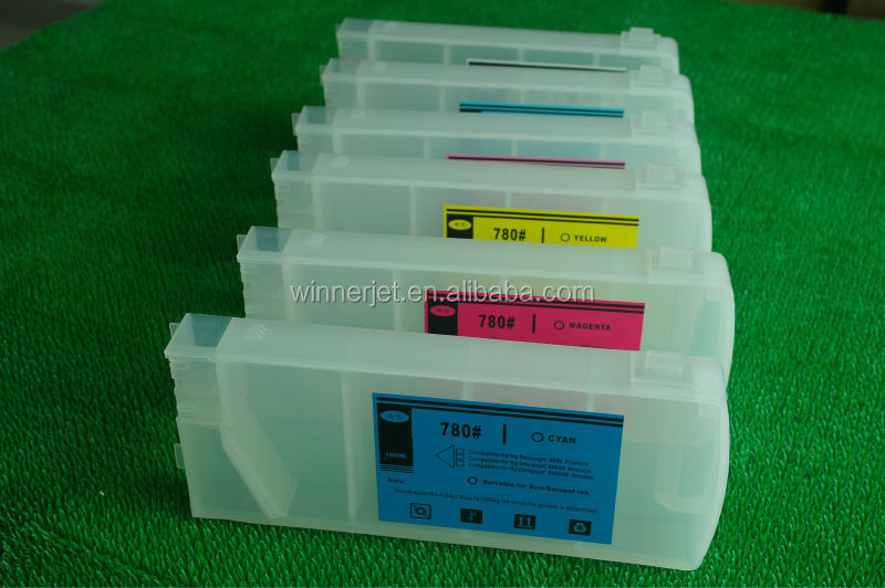 inkjet refill cartridges for hp 780 for HP Designjet 8000 8000s plotter