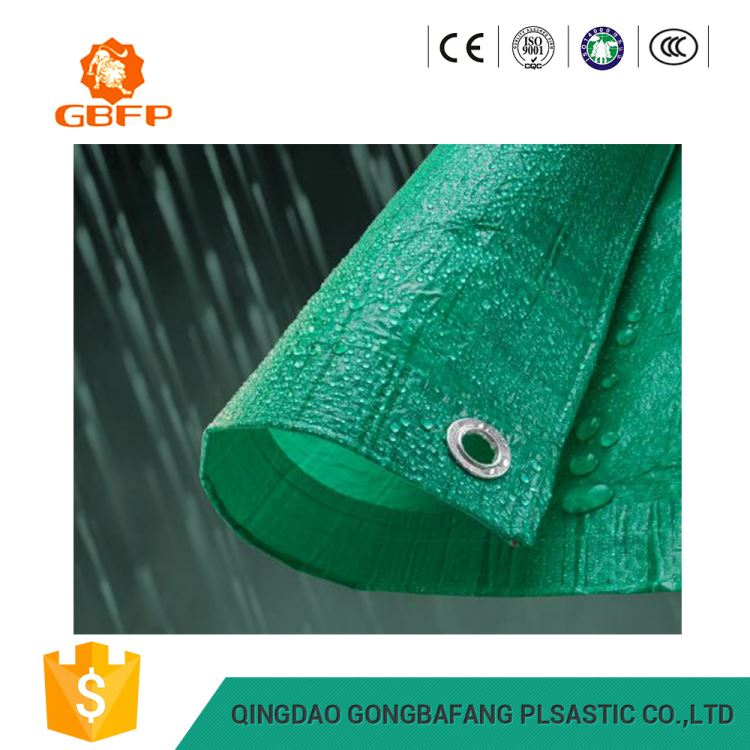 Plastic Eyelets Waterproof Polyester Canvas Fabric Tarpaulin Tarps For Pool Cover