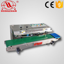 continuous pouch heat sealing machine for aluminium foil packng bag and band