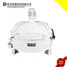 Stationary TEKA Electric Concrete Pan Mixer for Sale