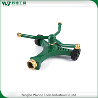 Aluminum alloy farming sprinkler traveling sprinkler with wheel base